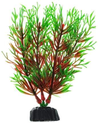 Растение для аквариума Barbus, пластик, Перестолистник красный, Plant 001, 10 см
