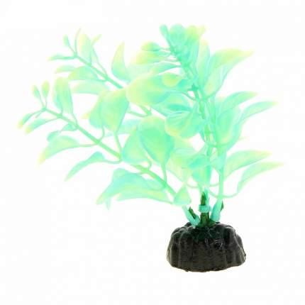 Искусственное растение для аквариума Barbus Людвигия светящееся в темноте Plant 057 10 см