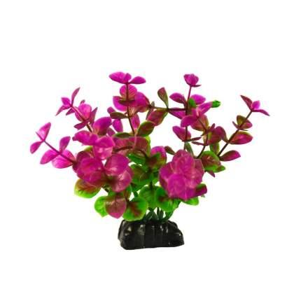 Растение для аквариума Barbus, пластик, Бакопа красная, Plant 025, 10 см