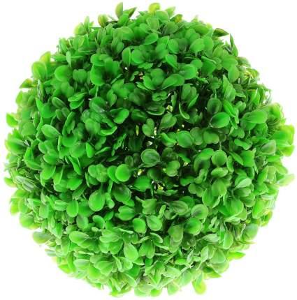 Растение для аквариума Barbus, пластик, Шар, зеленое, Plant 062, 18 см