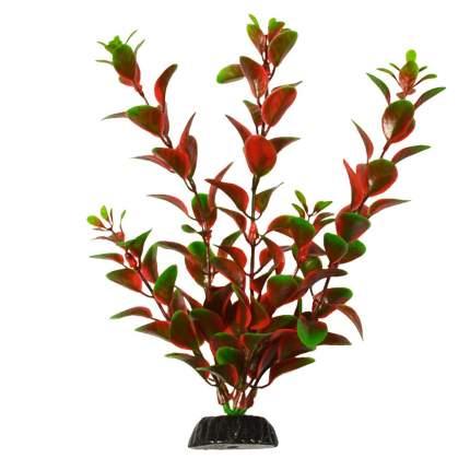 Растение для аквариума Barbus, пластик, Людвигия красная, Plant 006, 20 см