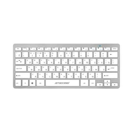Клавиатура Jet.A Slim Line K8 BT Silver
