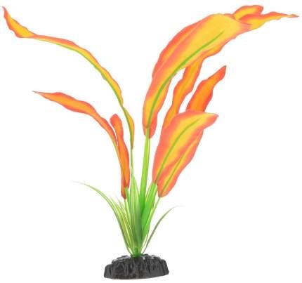Искусственное растение для аквариума Barbus Эхинодорус Бартхи красно-желтый Plant 047 30см