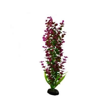 Растение для аквариума Barbus, пластик, Бакопа красная, Plant 025, 30 см