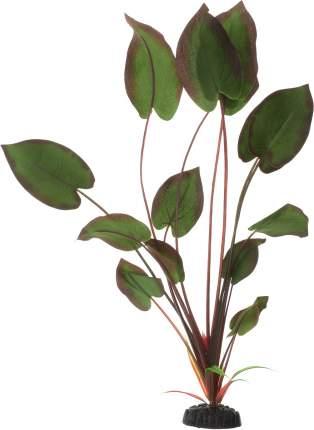 Искусственное растение для аквариума Barbus Эхинодорус бархатный Plant 043 50 см, шелк