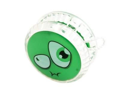 Волчок на шнуре YO-YO Смайл, зеленый