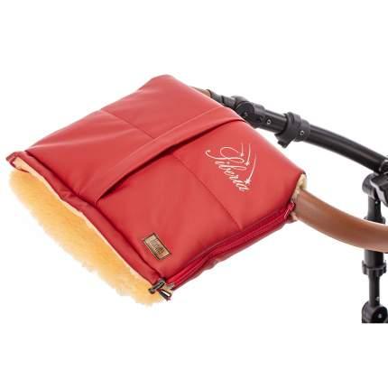 Муфта меховая для коляски Nuovita Siberia Lux Pesco красный