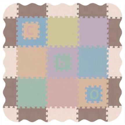 Набор бортиков-бордюров для ковриков-пазлов Funkids серии NT (расцветка 05), 16 частей