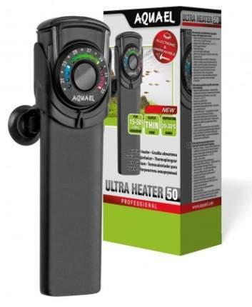 Обогреватель погружной для аквариума Aquael Ultra Heater, пластик, 50 Вт