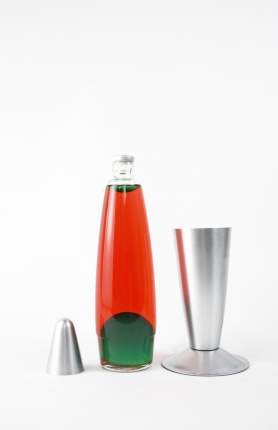 Лава-лампа, 35 см, Красная/Зеленая