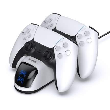 Зарядная станция DOBE для 2-х геймпадов Sony DualSense (TP5-0515С)