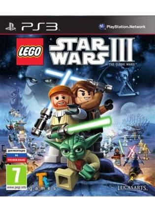 Игра LEGO Star Wars III: The Clone Wars для PlayStation 3