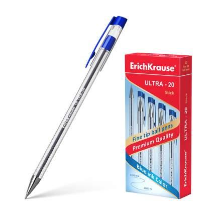 Ручка шариковая ErichKrause® ULTRA-20, синий в коробке 12 шт