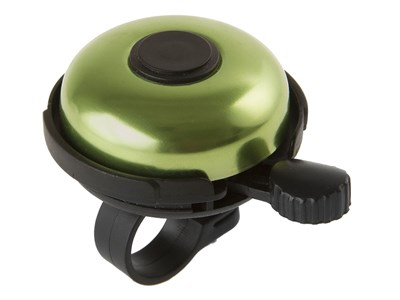 Велозвонок, алюминий, D-53мм, быстрое крепление, зеленый