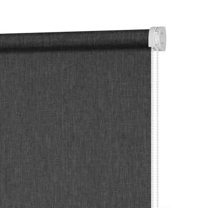 Рулонная штора Decofest Меланж Серый графит 80x160