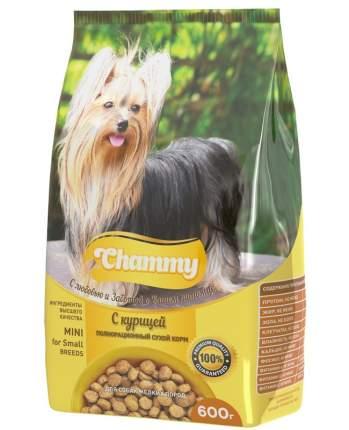 Сухой корм для собак Chammy маленьких пород с курицей 10кг