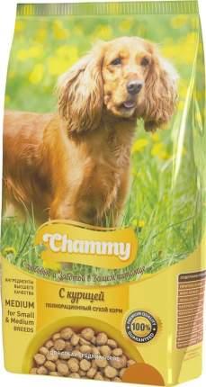 Сухой корм для собак Chammy средних пород с курицей 18кг