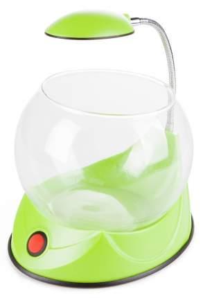Аквариум Hailea круглый зеленый 2,5 л