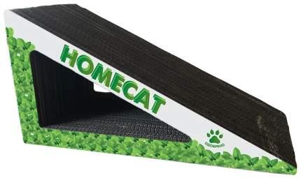 Когтеточка HOMECAT Треугольник картонная с кошачьей мятой большая 53х24х24 см