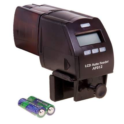 Автоматическая кормушка для рыб KW ZONE Dophin AF-012 до 5 кормлений с дисплеем