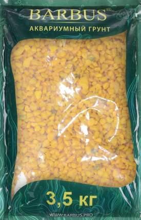 Грунт для аквариума Barbus Крошка каменная, желтый, 5-10 мм, Gravel 030 3,5кг
