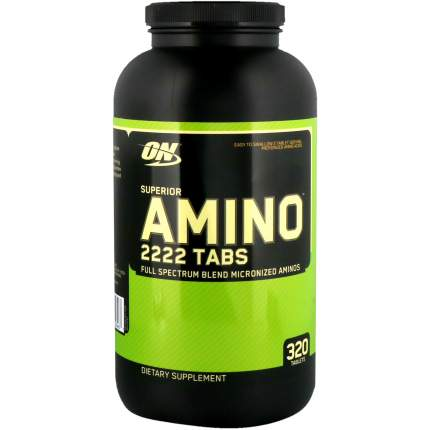 Optimum Nutrition Superior Amino 2222 320 таблеток без вкуса