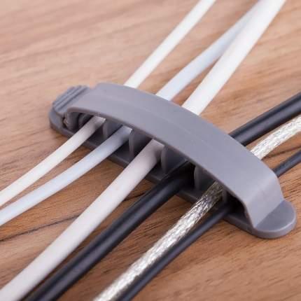 Клипса Espada для 6-и кабелей EK63 комплект 3шт
