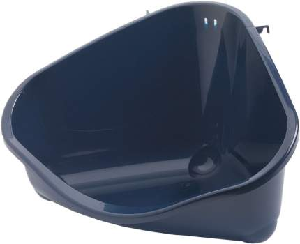 Туалет угловой для грызунов MODERNA черника средний 35х23,4х19 см