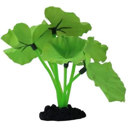 Растение для аквариума Prime шелковое Нимфея зеленая PR-81040G 13 см