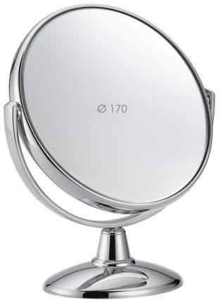 Косметическое зеркало Janeke Настольное D170 серебристое