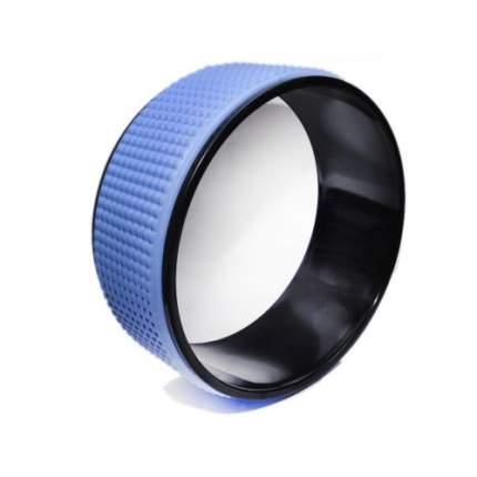 Колесо для йоги RamaYoga YGL-3313, синий/черный