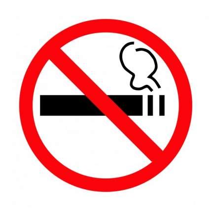 Знак P41 О запрете курения 20х20
