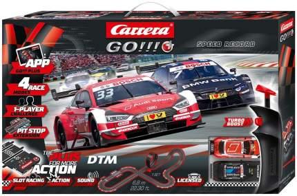 Автотрек Carrera Go!!!+ DTM Speed Record