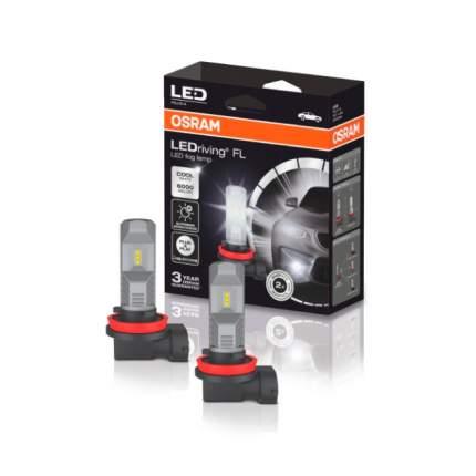 Лампа Светодиодная 12v H11/H9/H8 8,2w Pgj19-1 Osram 2 Шт. Картон 67219cw Osram 67219CW