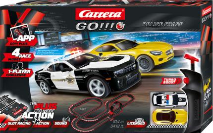 Автотрек Carrera Go!!! Plus Police Chase