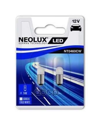Лампа Светодиодная T4w 0.5w 12v Ba9s Led 6000k (Блистер 2шт.) Neolux NT0460CW-02B