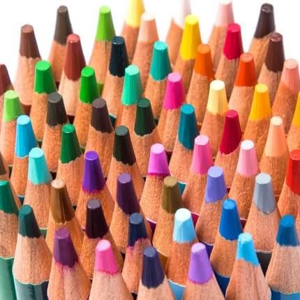 Карандаши цветные акварельные Deli 6566 липа 36цв.