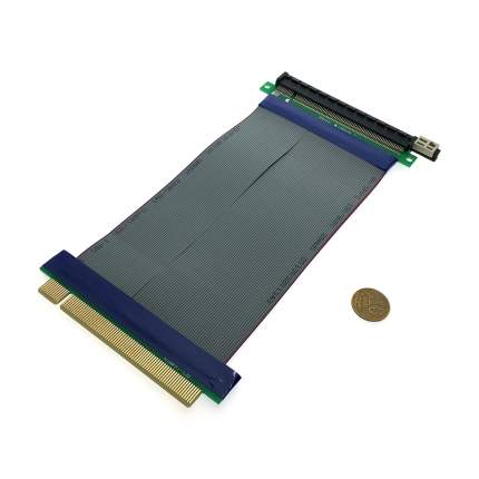Кабель удлинитель Espada PCI-E x16 Male to PCI-E x16 Female