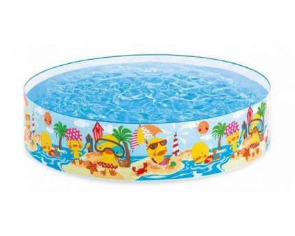 "Каркасный бассейн ""Утенок"", 122 х 25 см Intex"