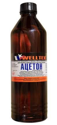 Ацетон технический 500 мл ГОСТ 2768-84 WELLTEX 60216