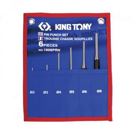 Набор KING TONY выколоток, чехол из теторона, 6 предметов 1006PRN