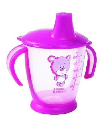 Чашка-непроливайка Canpol Медвежонок 180 мл, 9 + мес., арт. 31/500, цвет красный