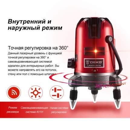Уровень лазерный в пластиковом кейсе DEKO LL57 SET 3 065-0283