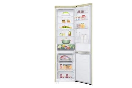 Холодильник LG GA-B 509 MESL Beige