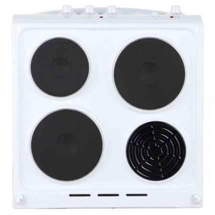 Электрическая плита DeLuxe 5003.18э White