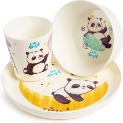 Набор детской посуды Little Angel Panda