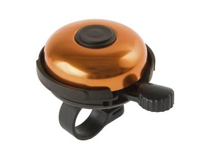 Велозвонок, алюминий, D-53 мм, быстрое крепление, оранжевый