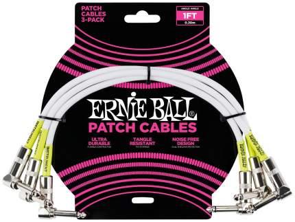Набор кабелей инструментальных Ernie Ball 6055 3 шт