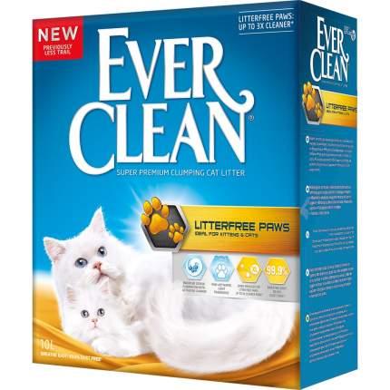 Комкующийся наполнитель для кошек Ever Clean Litterfree Paws бентонитовый, свежесть, 10 л