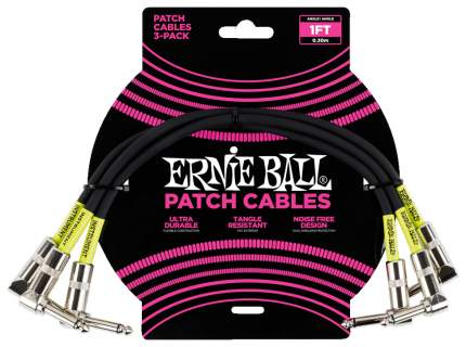Набор кабелей инструментальных Ernie Ball 6075